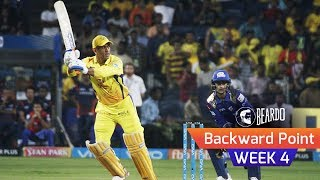 CSK captain MS Dhoni is the Player of the week 4 of IPL 2018