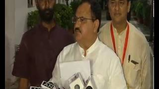 Shri Amit Shah and Smt Smriti Irani to contest Rajya Sabha polls from Gujarat: Shri JP Nadda