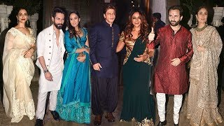 Salman,Akshay other 30 celebs attend Sonam Kapoor's GRAND Wedding Party at Anil Kapoor's House I