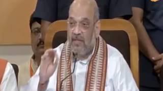 योगी सरकार बनने के बाद किसानों का ऋण माफ कर दिया गया : श्री अमित शाह, लखनऊ में प्रेसवार्ता के दौरान