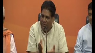 Joint Press Conference by Shri Bhupender Yadav & Shri Hukumdev Narayan Yadav at BJP HQ, New Delhi
