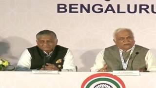 Media Briefing by Gen (Dr.) V.K Singh (Retd) & R.V. Deshpande