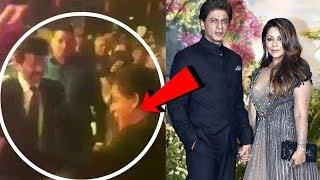 Shahrukh Khan DANCES With Anil Kapoor At Sonam Kapoor's Wedding Reception