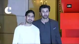 Ranbir Kapoor, Shah Rukh Khan attend Isha Ambani's engagement party