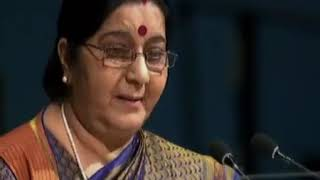 [Hindi] - EAM Sushma Swaraj's address to the United Nations General Assembly : 23.09.2017