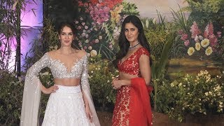 Katrina Kaif With Sister Isabelle At Sonam Kapoor's Wedding Reception