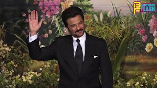 Happiest Jhakkas Father Anil Kapoor At Daughter Sonam Kapoor GRAND Reception Night Party