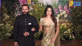 Kareena Kapoor, Karishma Kapoor Amrita & Saif At Sonam Kapoor Reception Party