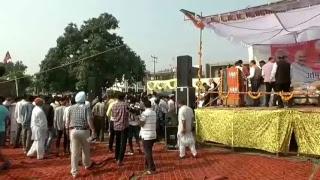 Shri Amit Shah addresses public meeting in Kangra, Himachal Pradesh