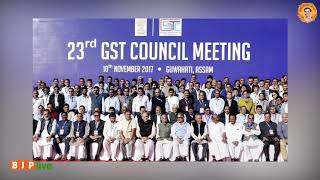 Only 50 luxury items remain in 28% tax slab after 23rd GST council meet.