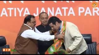 Actor Rahul Roy joins BJP in Presence of Vijay Goel at BJP HQ : 18.11.2017