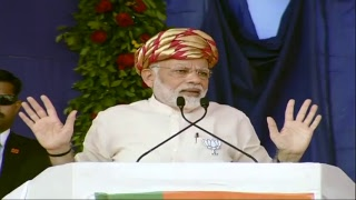 PM Shri Narendra Modi addresses public meeting in Palitana, Gujarat : 29.11.2017
