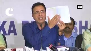Randeep Surjewala: BJP doing drama to divert attention from fraud