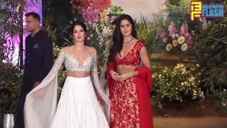 Katrina Kaif With Sister Isebella Kaif At Sonam Kapoor Reception Party