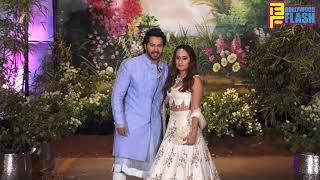 Varun Dhawan With Girlfriend Natasha Dalal At Sonam Kapoor Reception Party