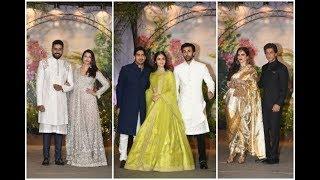 Uncut: Sonam Kapoor-Anand Ahuja Wedding Reception Night Party   Salman,Shahrukh,Ranbir,Alia, Kareena