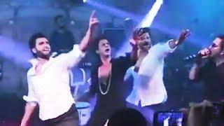 Shahrukh khan, Ranveer Singh And Anil Kapoor Crazy Dance At Sonam Kapoor's Wedding Reception