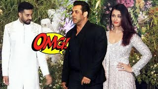 Salman Khan And Aishwarya Rai At Sonam Kapoor's Party, Abhishek Bachchan Gets Angry On Aishwarya