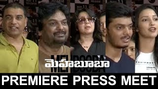 Mehabooba Movie Premiere Press Meet | Aakash Puri, Neha Shetty