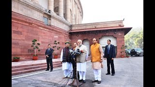 #WinterSession : May this Parliament Session contribute to the nation's growth : PM Modi