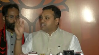 Congress party has stooped down to the politics of stalling the parliament : Dr. Sambit Patra