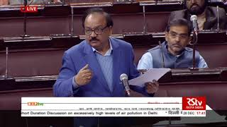 Dr. Harsh Vardhan's reply on high levels of air pollution in Delhi : 29.12.2017