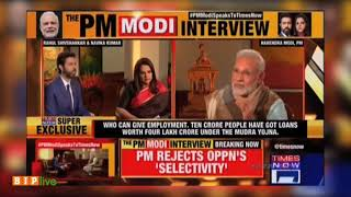 Ten crore people have got loans worth four lakh crore under the Mudra Yojna: PM