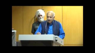 Speech by MoS (M.J. Akbar) at the event organized by ICCR on Mirza Bedi and his Legacy at Chandigarh