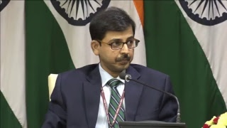 Press Statements by EAM & Afghan FM & Media Briefing on upcoming visits