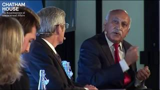 "MoS (M.J. Akbar)'S disussion at ""The Chathan House London Conference 2017"""