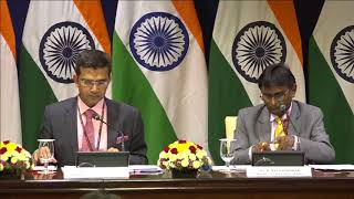 Briefing on the visit of Israel's PM to India & weekly media briefing by the Official Spokesperson