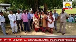 एलिमेंट्री स्कूल हैडमास्टर एसोसिएशन ने झज्जर में  किया शांति प्रदर्शन  #Channel India Live