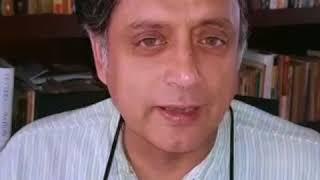 Karnataka Election 2018: Dr Shashi Tharoor speaks on Dr. Yogesh's fight for clean politics