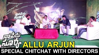 Allu Arjun Special Chitchat With Directors | Naa Peru Surya Naa Illu India Team Special Interview