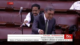 Shri Swapan Dasgupta's speech on the 'Motion of Thanks to the President's address' in Rajya Sabha