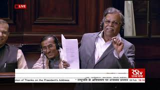 Shri La. Ganesan's speech on the 'Motion of Thanks to the President's address' in Rajya Sabha