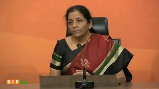 Smt. Nirmala Sitharaman explains how Gitanjali gems was given favour by the then UPA government.