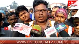 Pradeep Port workers Strike