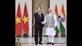PM Shri Narendra Modi's speech at Exchange of Agreement and Press Meet with President of Vietnam