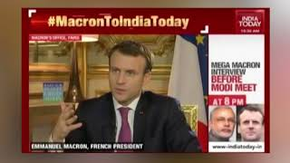 Rafale Deal is a very good agreement for India's security : French President