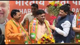 Shri Naresh Agarwal joins BJP in the presence of Shri Piyush goyal: 13.03.2018