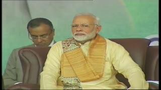 PM Shri Narendra Modi addresses a civic reception in Janakpur, Nepal