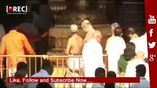BJP President Amit Shah Visits Tirumala   TDP Leaders Protest Against Amit Shah At Tirumala