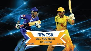 IPL 2018: Match 43, RR vs CSK: All you need to know
