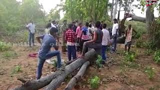 ANGUL FORESTER DETAIN BY VILLAGERS