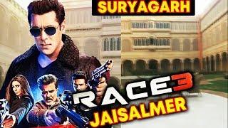 RACE 3 Shooting In Suryagarh Palace In Jaisalmer | Salman Khan