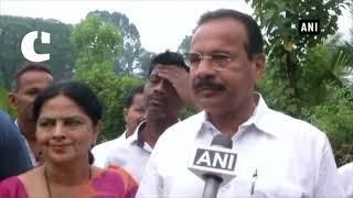 K'taka elections 2018: BJP leader DV Sadananda Gowda casts vote in Puttur