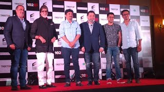 Amitabh Bachchan, Rishi Kapoor, Umesh Shukla at the success press-conference of 102 NOT OUT | part 2