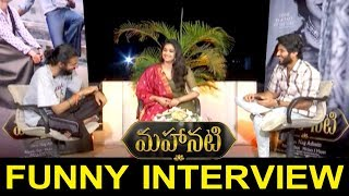 Vijay Devarakonda Funny Interview With Keerthy Suresh and Nag Ashwin | Mahanati Team Interview