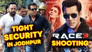 Salman Khan Shoots In Tight Security For RACE 3 Shoot In Jaisalmer